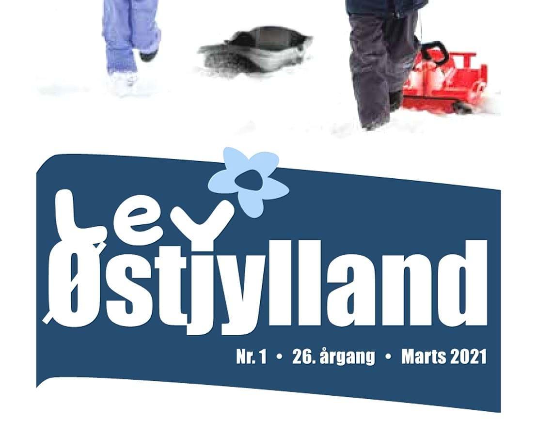 Forside bladet Lev Østjylland 1 2021